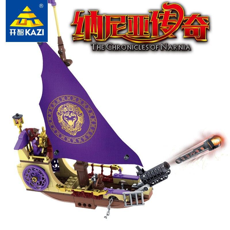K Model K87021 927pcs Chronicles Narnia Models Building Kits Blocks Toys Hobby Hobbies For Boys Girls Compatible lepin