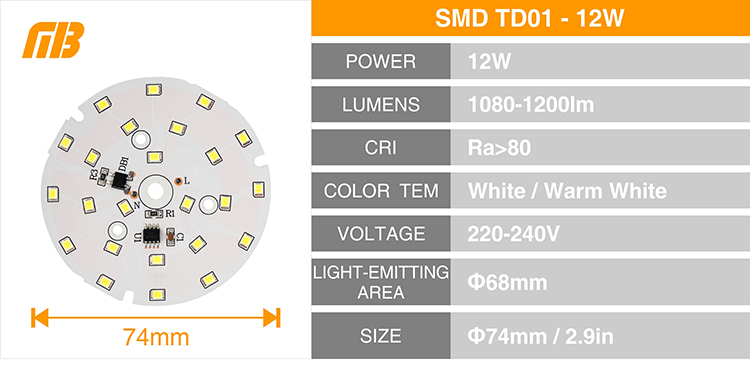 LED Down Light_TD-01 Chip_13
