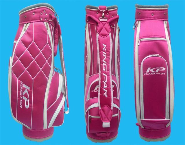 High Quality King Par Golf Bag Women Pink Cart Bags Las Staff Female