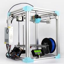 Somars Новый 2017X5 комплект 3D-принтеры DIY с горячей кровать металлическая большой 3d-printer Сенсорный экран автоматическое выравнивание большой принт Размеры 260x260x260 м