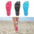 2017 наклейки на обуви  клейкие прокладки для ног  пляжный Носок  водонепроницаемая гипоаллергенная клейкая прокладка для ног
