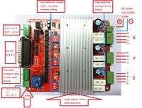 Factory Direct Sales CNC 3 Axis TB6560 3 5A Stepper Motor Driver Controller Board Mach3