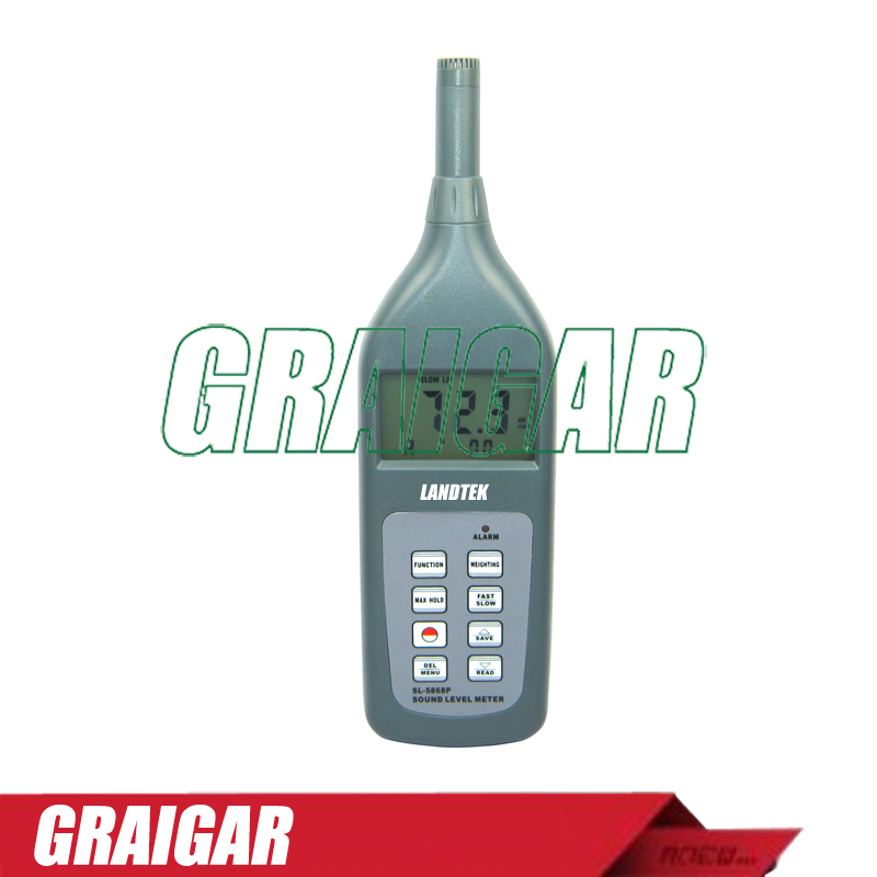 Digital Sound Level Meter SL-5868PDigital Sound Level Meter SL-5868P