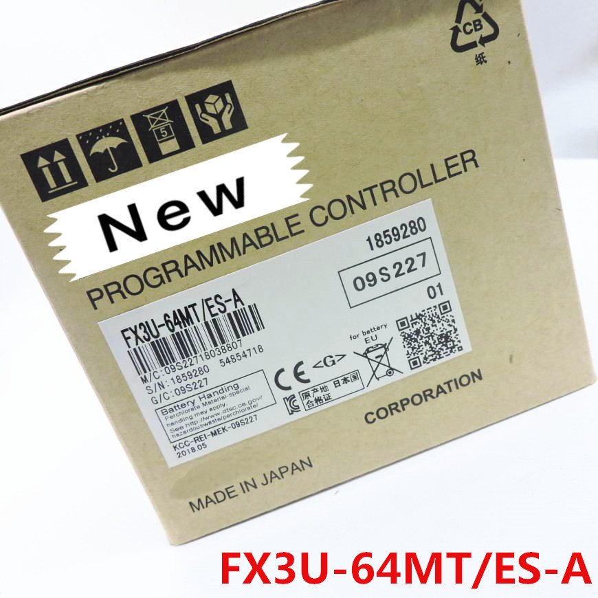 1 year warranty New original In box FX3U 48MR ES A FX3U 48MT ES A FX3U