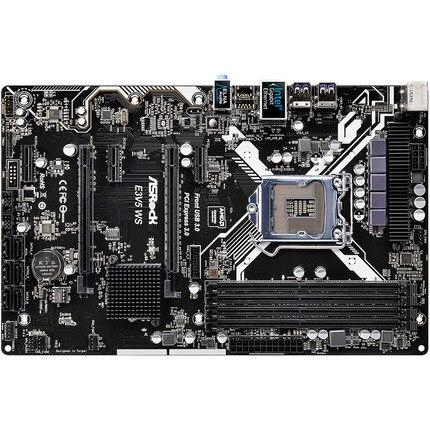 E3v5 WS сервер доска C232 Чипсет поддерживает e3-1230v5