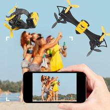2017 Cheerson CX-70 WIFI RC Quadrocopter Mini Drone With Camera HD Video Bat Flight Drone RC Quadcopter Selfie Drone Pocket FPV