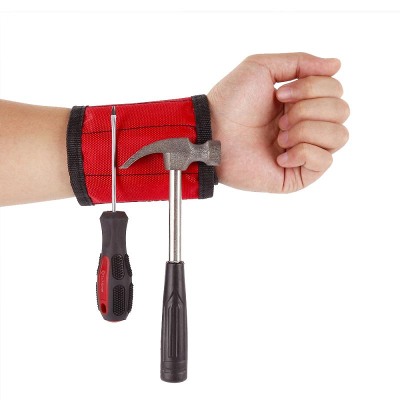 Bracelet Magnétique pour Petits Outils de Bricolage - OFFRE LIMITEE : PRIX REDUIT AU MAXIMUM