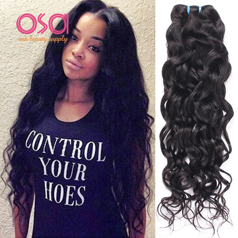 Osa Raw Indian Hair Indian Virgin Hair Ocean Wave Indian Water Wave