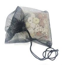 Quality Rope Black Aquarium Mesh Bag Pond Filter Net For Bio Ball Carbon Media Fish Tank Isolation