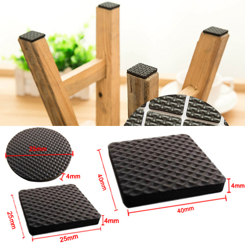 24pcs/set Anti Skid Foam Protection Pads Home Indoor