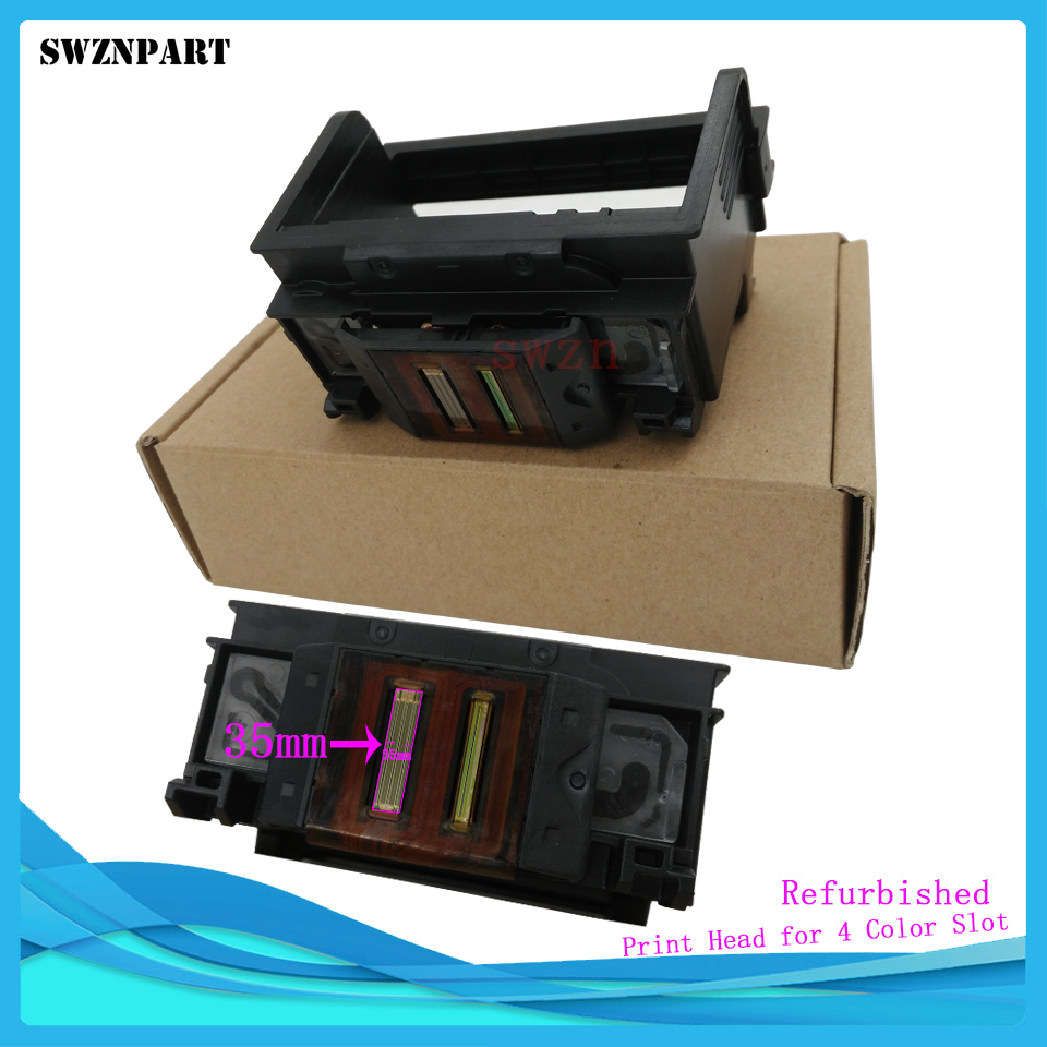 862 Print Head 4 Color Slot For HP C5324 C5370 D5460 D5463 D5468 C6375 3070A D5445