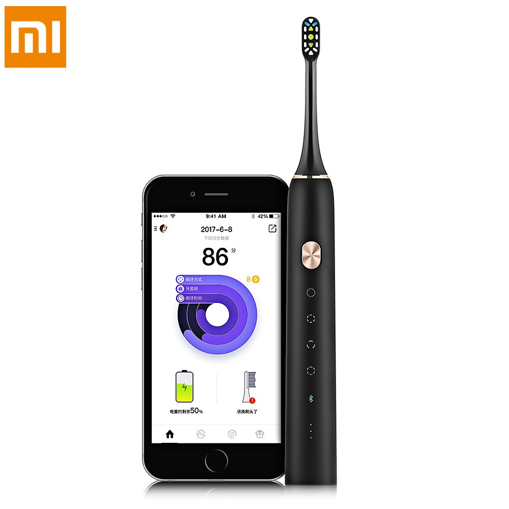 Xiaomi Soocas Soocare x3 Waterproof Electric Toothbrush Rechargeable Sonic Toothbrush Upgraded Ultrasonic Toothbrush