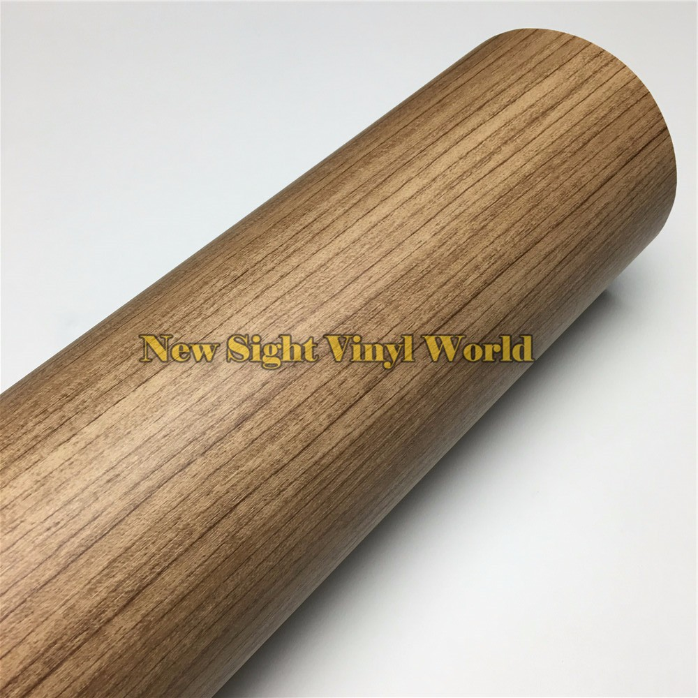 Teak-Car-Wood-Grain-Vinyl-Wrap-Film (4)