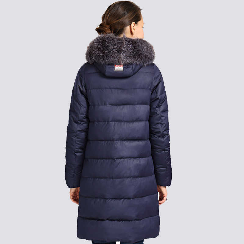 2019 Nieuwe Winter Jas Vrouwen Plus Size Bontkraag Lange Dames Winterjas Dikke Hoge Kwaliteit Warm Down Jassen Parka uitloper