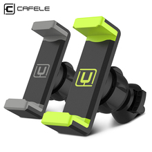 CAFELE universal phone holder stand 360 adjustable air vent monut GPS car mobile phone holder for iPhone X 8 7 6 Plus Samsung S8