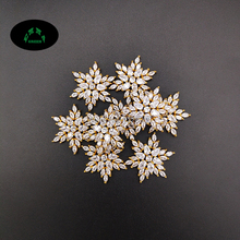 Zircon Charms for Jewelry making Crystal Charms 10pcs Star Charm Pendant Snowflake Charms for Women Lovely Zircons charms