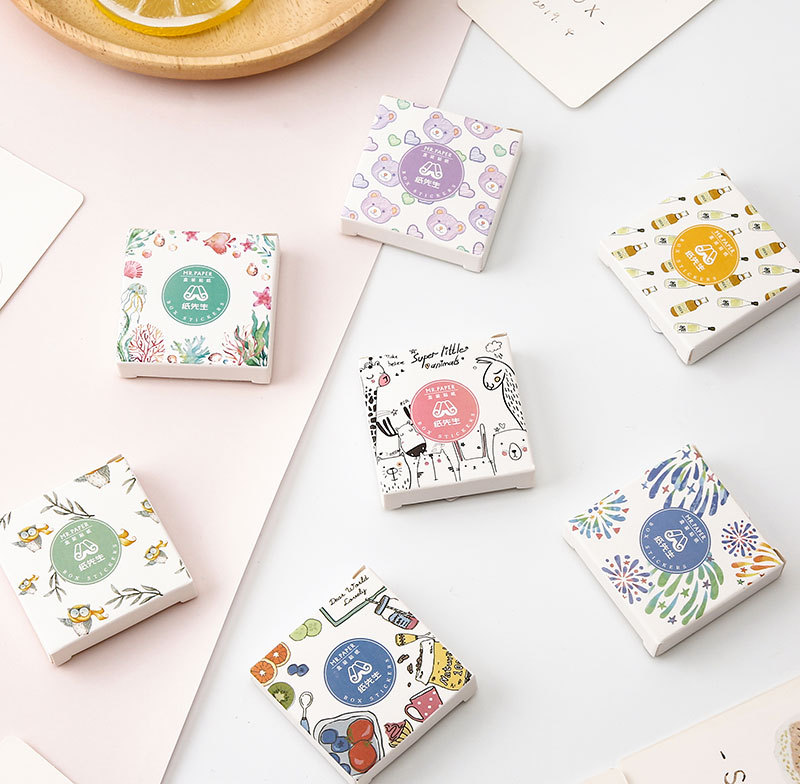 Mohamm Pouring Series Stickers Daily Life Scrapbook Paper Deco Girl Fashion Stationary Sticker Scrapbooking