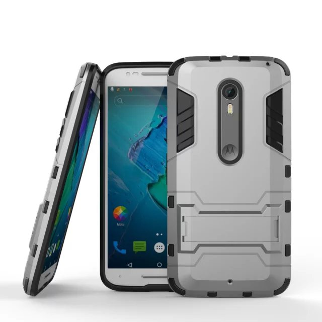 size 40 54c50 5b84c US $4.67 |Luxury Original Plastic Hard Armor Style Protector Back Cover For  Motorola Moto X Style Pure Edition XT1575 Case Silicon Men on ...