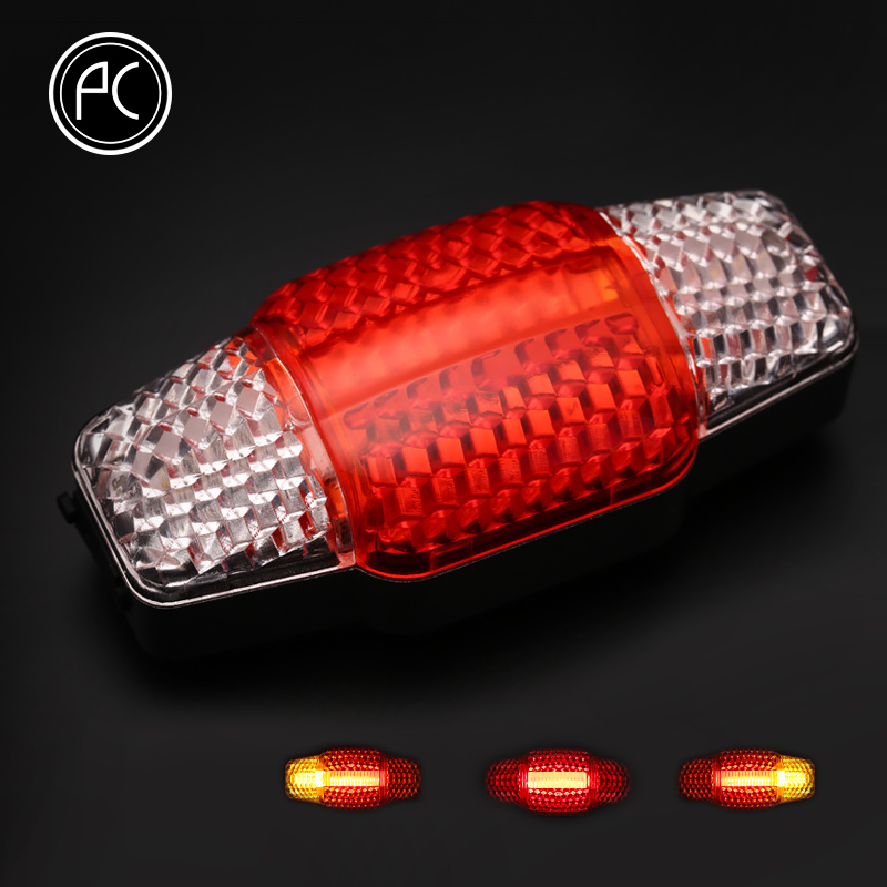 PCycling Bicycle Light Intelligent Turn Signal Brake Light USB Rechargeable Light COB LED Bike Lights Cycling Laser Taillight