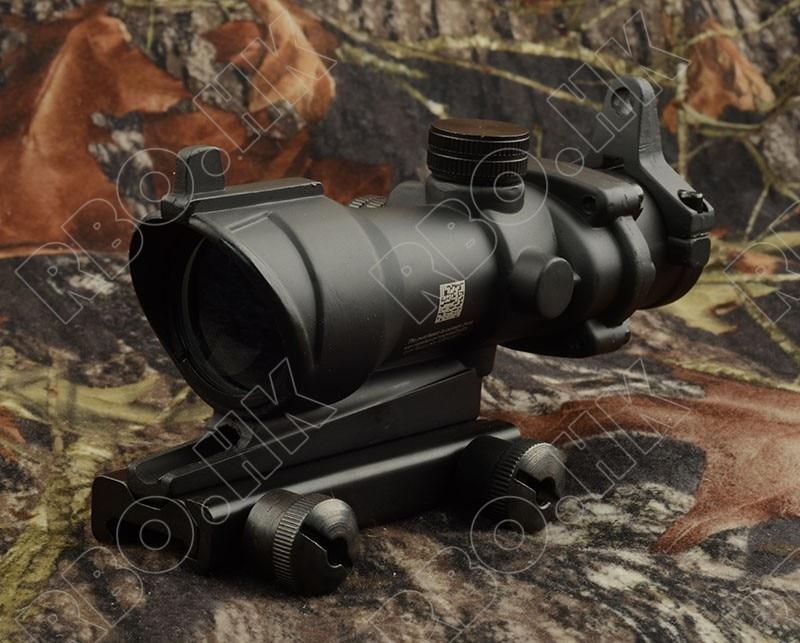 все цены на Tactical acog Style 4x32 Rifles Scope For Picatinny Rail Mount Base Hunting shooting M2833 онлайн