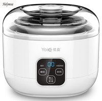 Multifunctional Yogurt Makers Rice Wine Natto 220V Fully Automatic LCD Touch Switch 304 Stainless Steel Microcomputer Timing