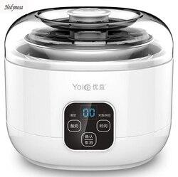 Multifunzionale Macchine per yogurt Vino di Riso Natto 220 V Completamente Automatico LCD Touch Interruttore di 304 In Acciaio Inox Microcomputer Timing