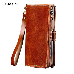 Genuine Leather Case For Huawe