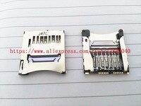 100% NOVO Cartão de Memória SD Slot Suporte Para Canon EOS 70D 100D 1200D SLR Digital Camera Repair Parte
