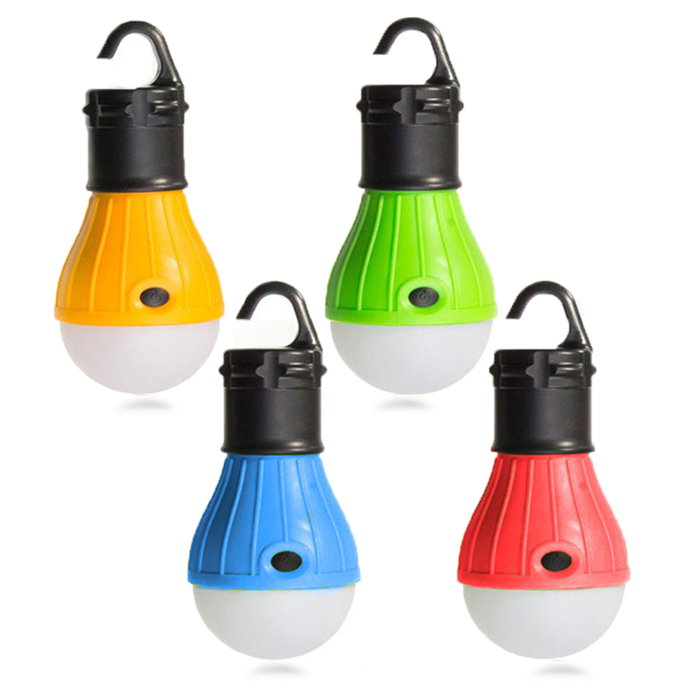 Portable Emergency Outdoor Tent Light Handy Hook Magnetic Torch Camping LED Bulb Lantern Waterproof Lamp For Hiking Fishing