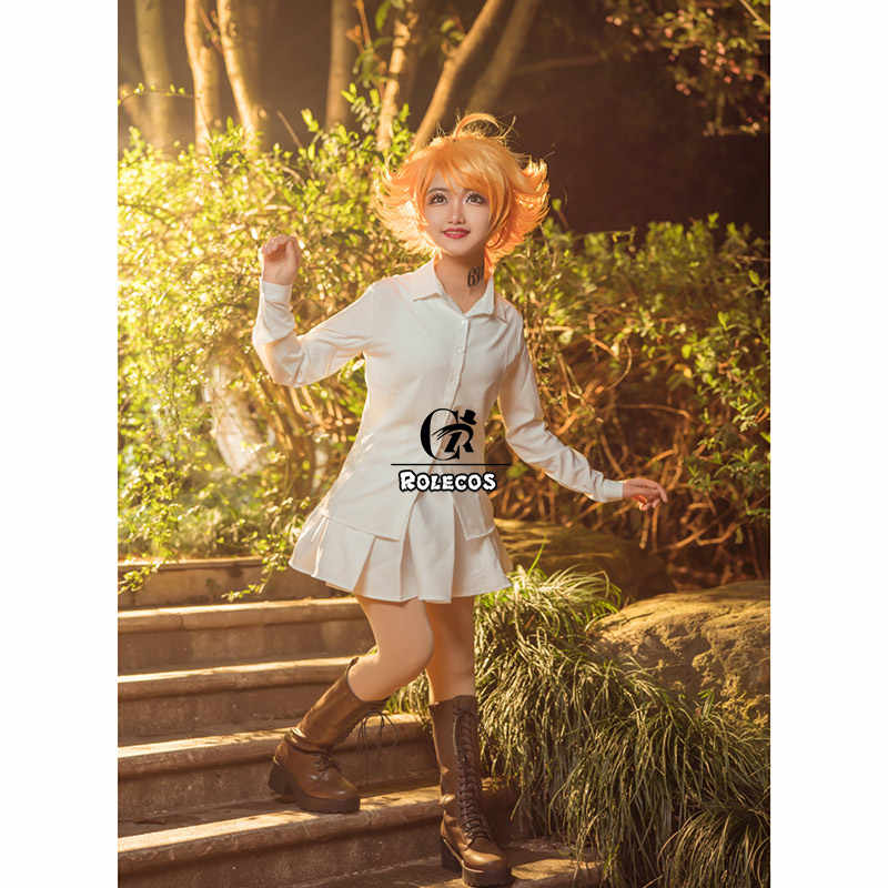 Rolecos Anime Yang Dijanjikan Neverland Emma Cosplay Kostum Yakusoku Tidak Neverland Cosplay Kostum Gadis Seragam Sekolah Untuk Wanita Aliexpress
