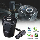 VEHEMO 12-24V Cup ABS Bluetooth Car Charger MP3 Player Car for Truck Cup Charger Automotive TF Pin FM Transmitter Accessories