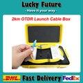 OTDR Zona Muerta Eliminator, Anillos De Fibra, fibra Óptica OTDR Launch Box Cable 2 km 1310/1550nm SM