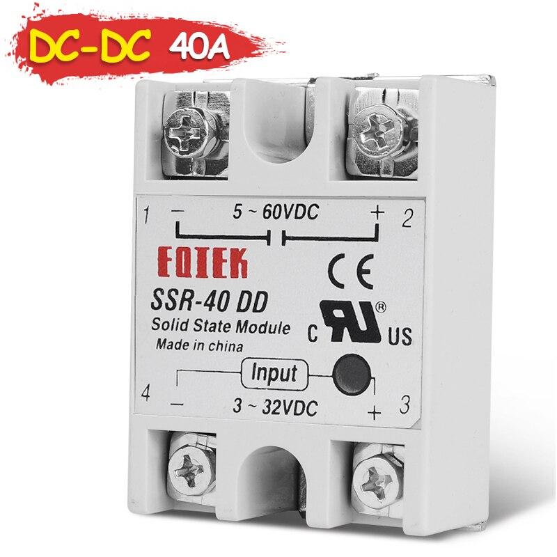 1PCS SSR-25DD 25A DC-DC 3-32V DC TO 5-60V DC Solid State Relay