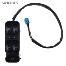 Car Window Lifting Switch Electric Window Switch Folding A2038210679 for Mercedes Benz C-Class C 180 200 220 230 240 280 32 320 цена