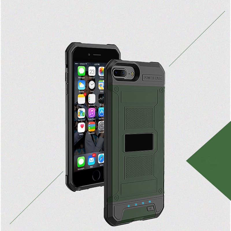 Power Case for iphone 6plus 6s plus 7plus 8plus 4200mAh Case Charger for iphone 6 6s 7 8 3000mAh External Battery Bank Covers чехлы на iphone 8 off white