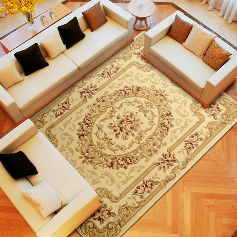 160 230cm european style carpets for living room soft and