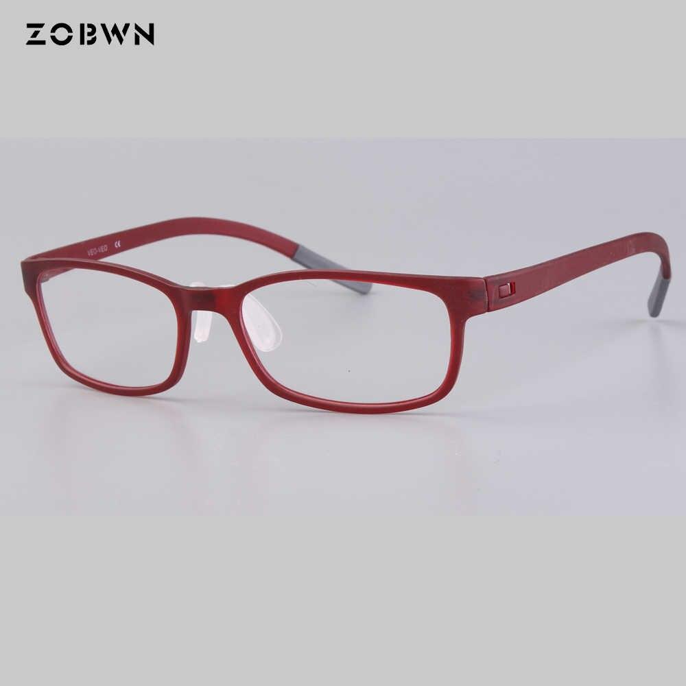 e6f890d6fe ... ZOBWN brand 2018 newest TR90 Clear Lens classic Glasses Frame Men Prescription  Eyewear Optical Myopia Eyeglasses ...