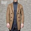 American style mens chaquetas de lana de abrigo de cachemira clásico homme manteau abrigos hombres invierno casaco masculino LT1160 Envío Gratis