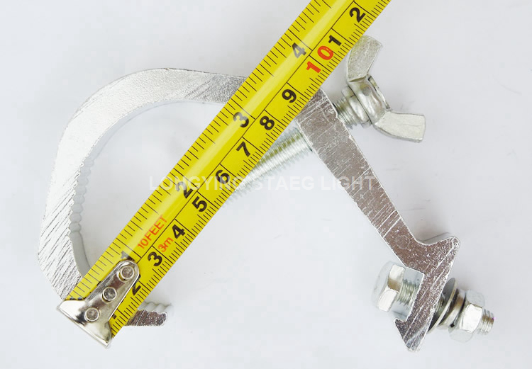 Free Shipping 10pcs/Lot 40-60mm Truss Bearing Weight 20kg Aluminium Material Stage Light Hook Clamp Led Stage Effect