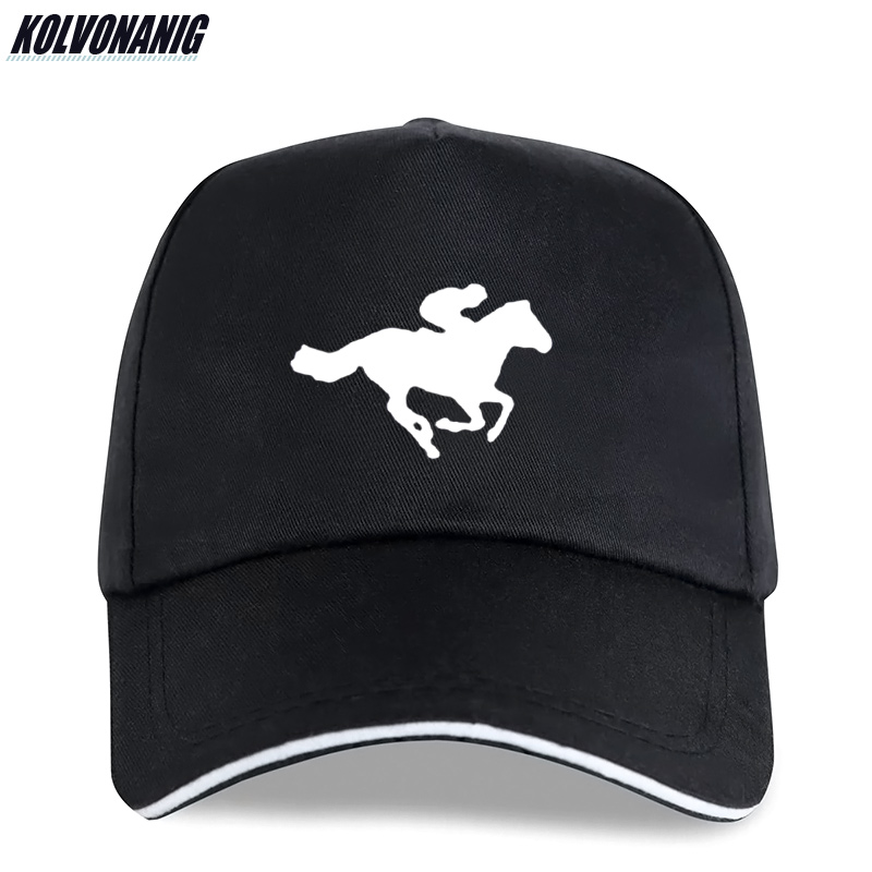 2019 Summer Hot Sale Fashion Horse Riding Race Animal Printed Cotton   Baseball     Cap   for Men Snapback Adjustable Unisex Sun-Hat