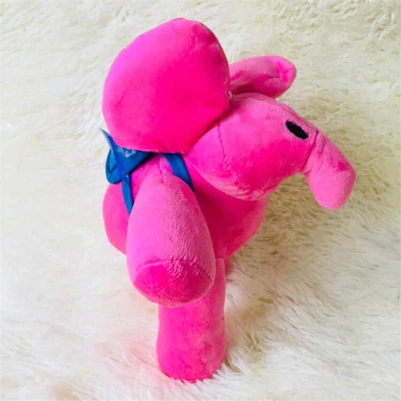 1 set/lote elefante boneca dos desenhos animados plush pocoyo zinkia pato brinquedos do cão Decoração de casa decoração do carro de presente de Natal