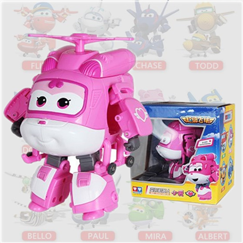 one piece anime action figure pink super wings deformation robots <font><b>bonecos</b></font> china <font><b>pop</b></font> hot toys for children kids girl gift movie image