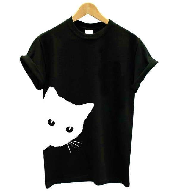 Cotton Casual Funny Printed T Shirt 17