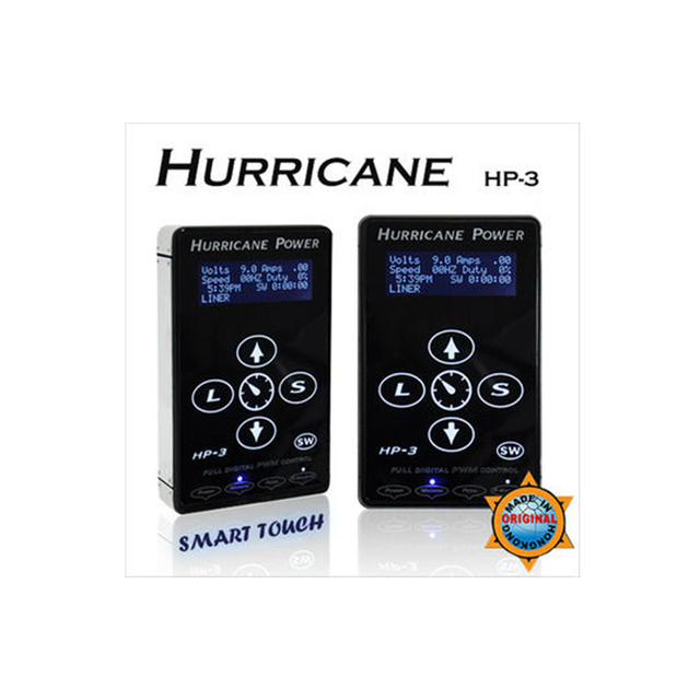 hot sale hurricane HP-3 tattoo power supply simple versions