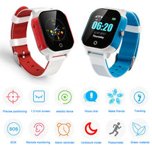 GPS WIFI FA23 Smart Children Watch Baby SIM Card Touch Screen SOS Tracker Kids Alarm Clock Anti-Lost Smartband IP67 Waterproof(China)