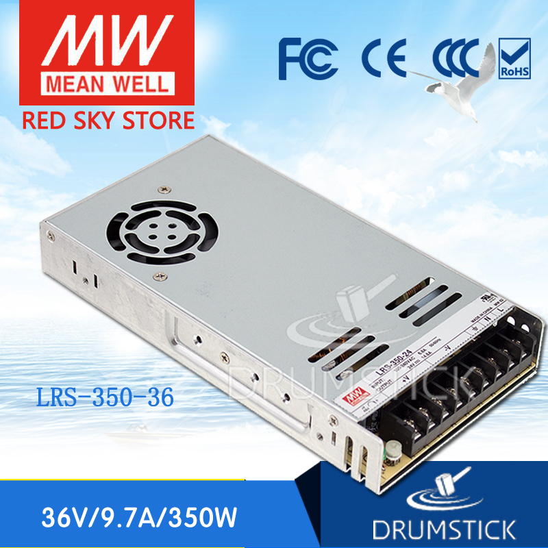 цена на (Only 11.11)MEAN WELL LRS-350-36 (2Pcs) 36V 9.7A meanwell LRS-350 349.2W Single Output Switching Power Supply
