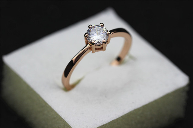 Women Lovers' Gift Silver Color  Ring 2pcs