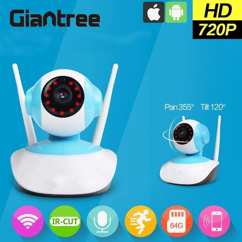 Giantree Wireless Network WiFi Home Security Cam IP Camera Cam Surveillance CCTV Pan Tilt CMOS Surveillance Camera Baby MonitorGiantree Wireless Network WiFi Home Security Cam IP Camera Cam Surveillance CCTV Pan Tilt CMOS Surveillance Camera Baby Monitor