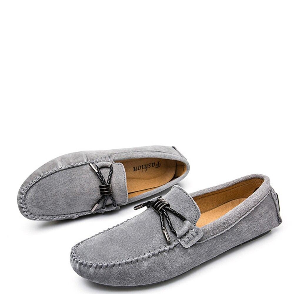 Gota Qffaz Deslizamento Transporte Mocassins Oxford Couro Novos Vestido red Black Loafers Casuais Homens khaki Sapatos Da Em De gray fqwAxSFRf6