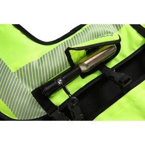 Image 5 - DUHAN รถจักรยานยนต์ กระเป๋าเสื้อกั๊ก Moto Racing Professional Air Bag Motocross ป้องกันถุงลมนิรภัยเกียร์